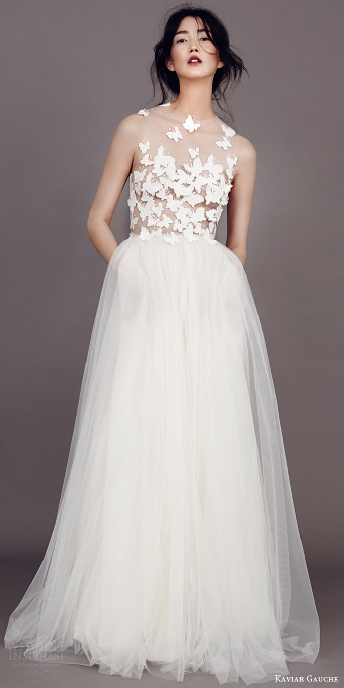 10 trending wedding dress trend all occasion catering for Nature inspired wedding dresses