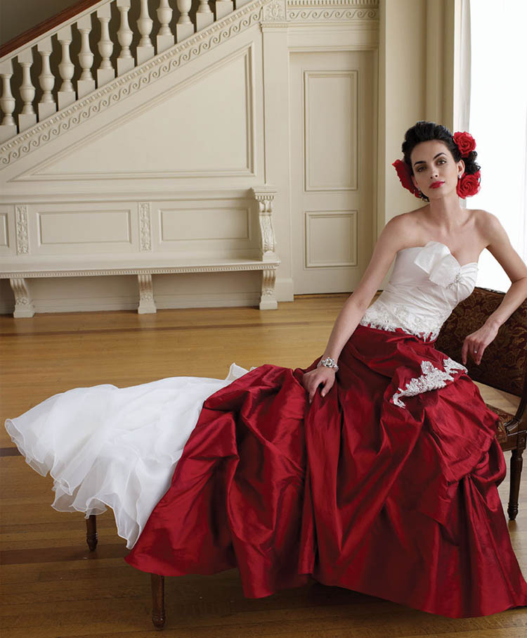 Wedding Gowns Made of Raw Silk