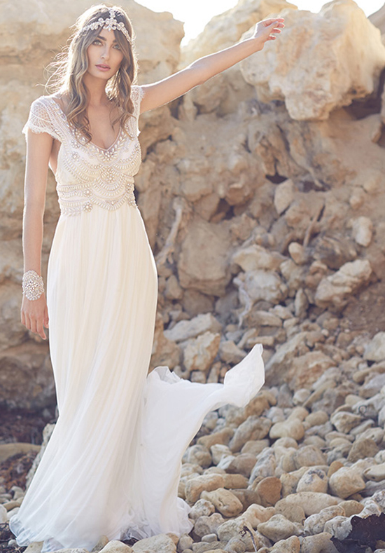 20 best beach destination wedding dress for 2016 lunss for Best wedding dresses for beach weddings