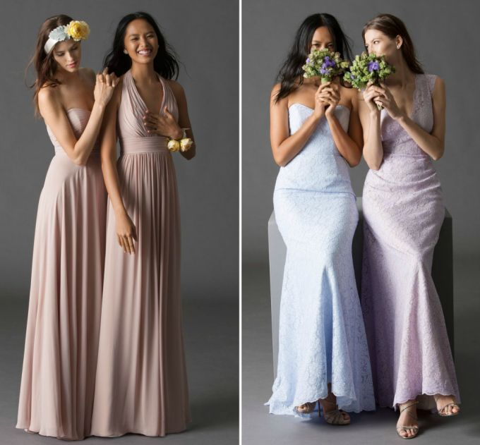 How to choose the most appropriate bridesmaid dresses for How much are watters wedding dresses