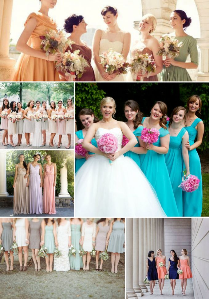 How to choose the most appropriate bridesmaid dresses for Wedding appropriate dresses
