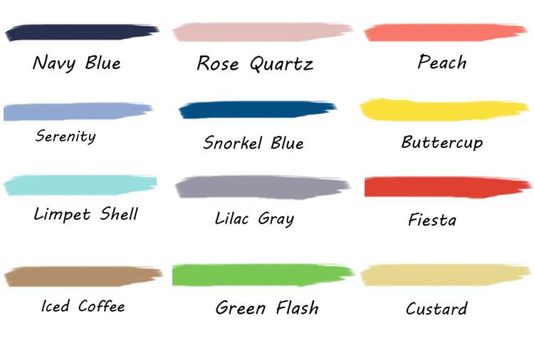 Pantone Spring 2016 Color Trends