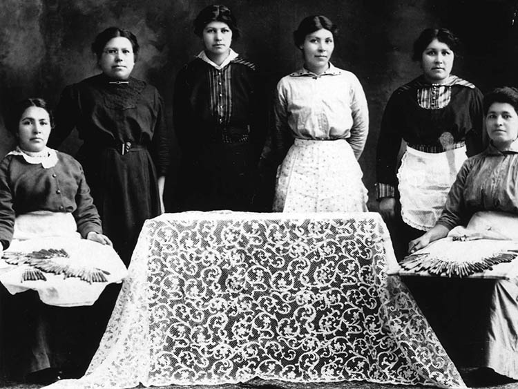 Lace history