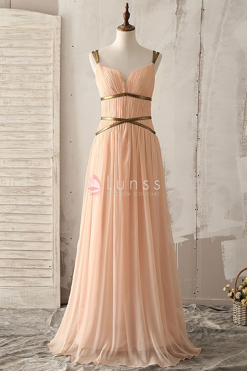Gold Empire Dress
