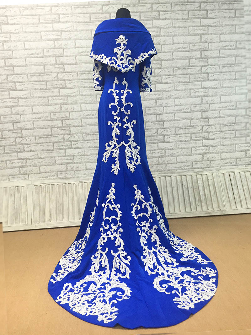 royal-blue-matte-satin-mermaid-dress-with-detachable-cape Job Formal on promotion congratulations, acceptance letter sample, letter apply for, letter application for teaching,