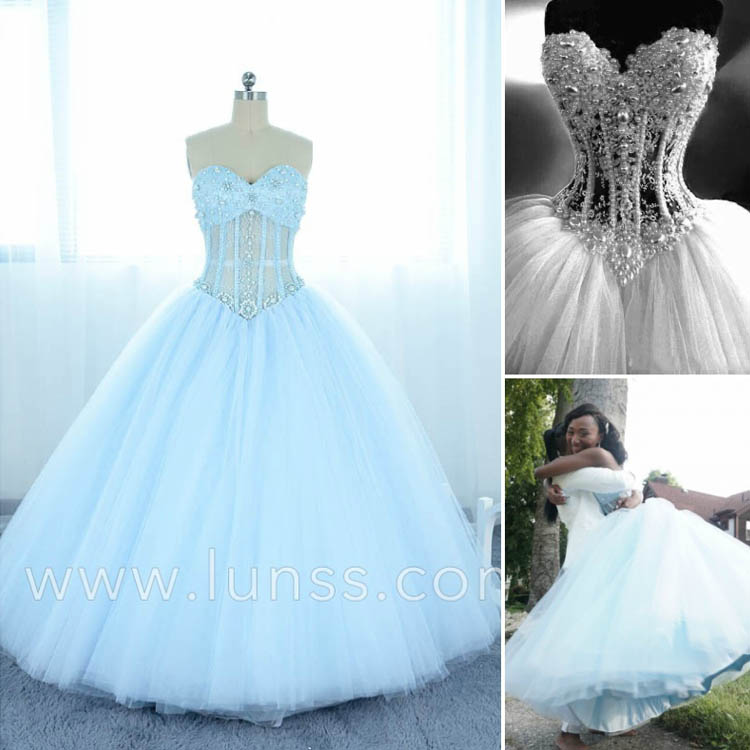 Beautiful ball gown - Lunss Couture