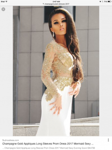 lace top satin prom dress