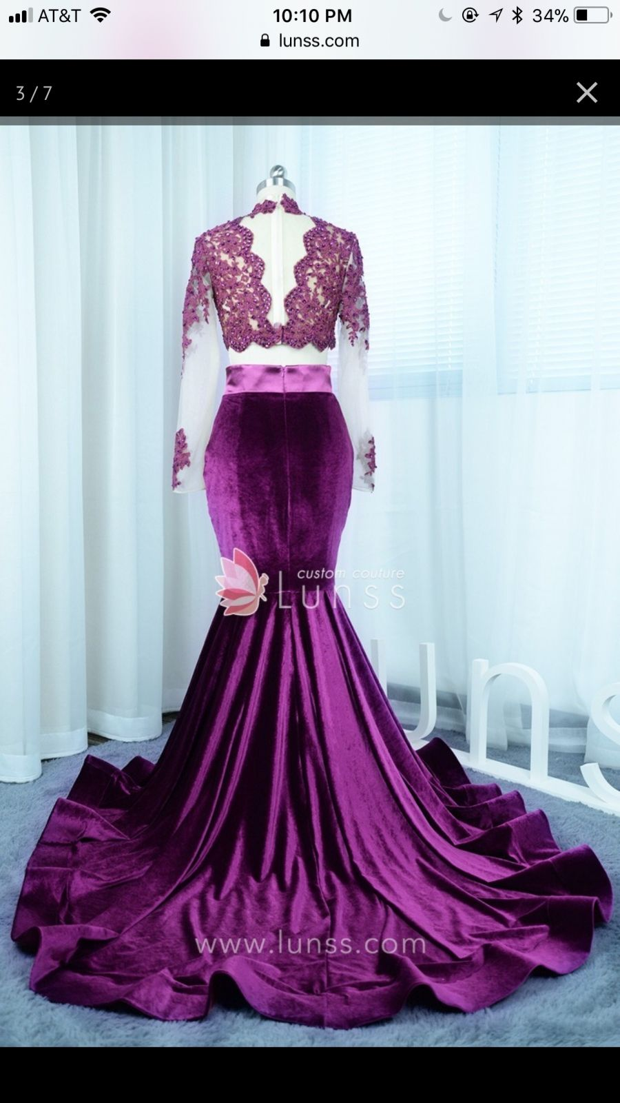 Two Piece Prom Dresses  Promlily