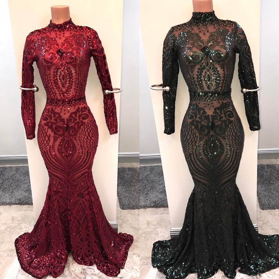 Stunning Champagne Color Embroidered Sequin Customized
