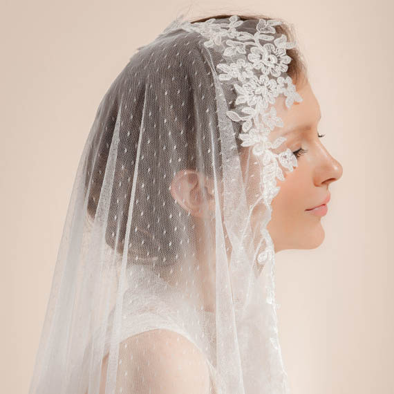 Lace and Tulle Veil
