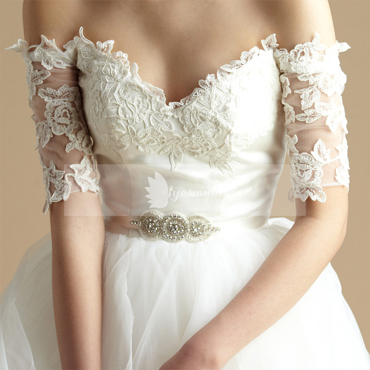 Wedding Dress with Belt Sashes_Other dresses_dressesss
