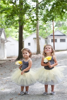 two tone toddler custom flower girl dress sleeveless spaghetti straps 1