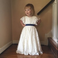 Sweet cute flower girl dress