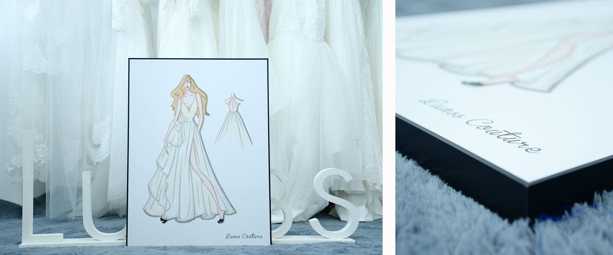 Wedding Dress Sketch Gift: Wedding Dress Sketches, Prom Dress Sketches, Free Dress