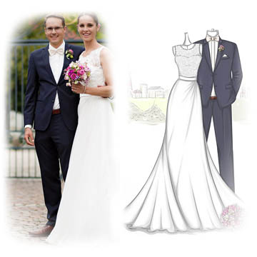 Design Your Own Wedding Dress and Evening Prom Formal Dress Online ...