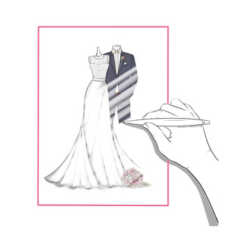 Wedding Dress Sketches Prom Dress Sketches Free Sketching Service